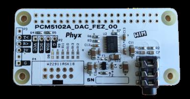 RPI Fez DAC PCM5102A
