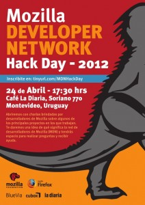 MDN Hack Day Montevideo 2012