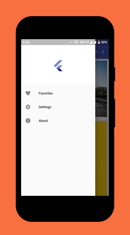 Wallpaper App built using Flutter & Unsplash API - Source ...