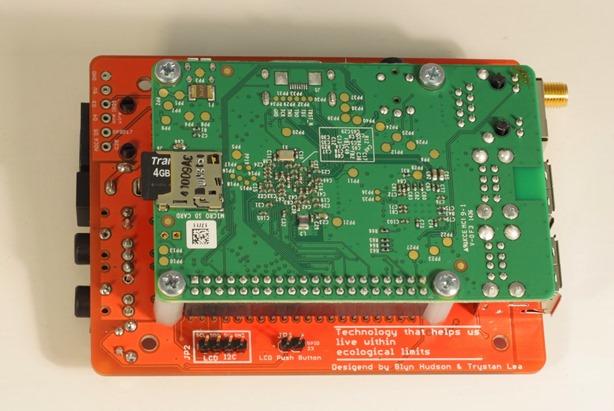 emonPi circuit board