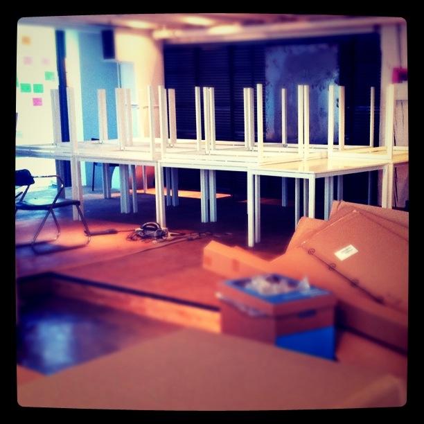 Building IKEA desks