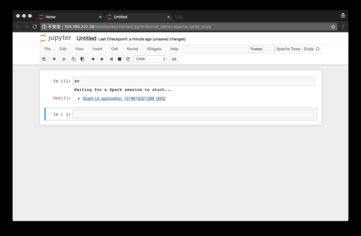 AppLish Farm: Running Spark with Scala language on Jupyter