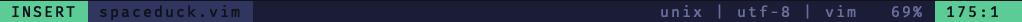 lightline insert mode screenshot