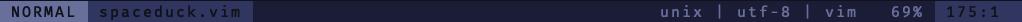 lightline normal mode screenshot