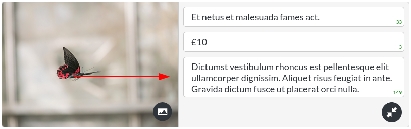 Image of the prices - list module list items description