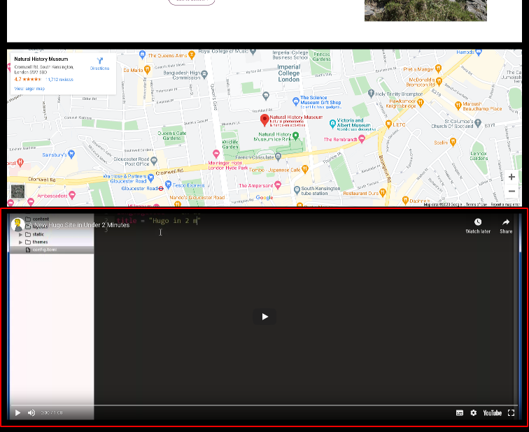 Image of the video only module online
