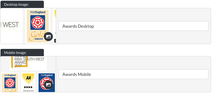 Image of the awards module images