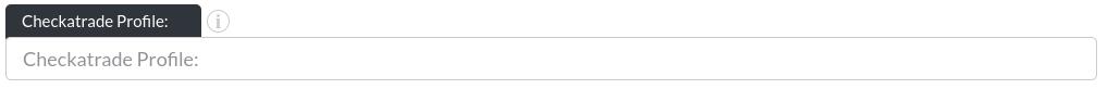 Image of the checkatrade profile input