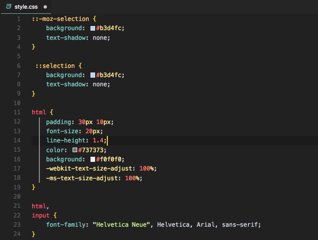 CSS PREVIEW