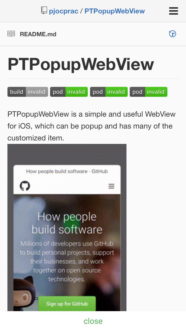 GitHub - pjocprac/PTPopupWebView: PTPopupWebView is a simple