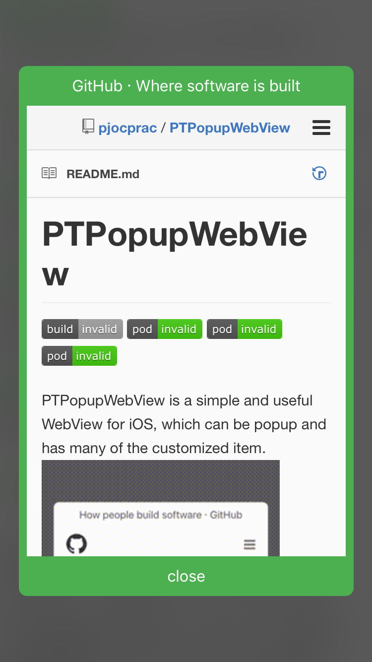 GitHub - pjocprac/PTPopupWebView: PTPopupWebView is a simple and