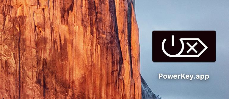 PowerKey app on desktop