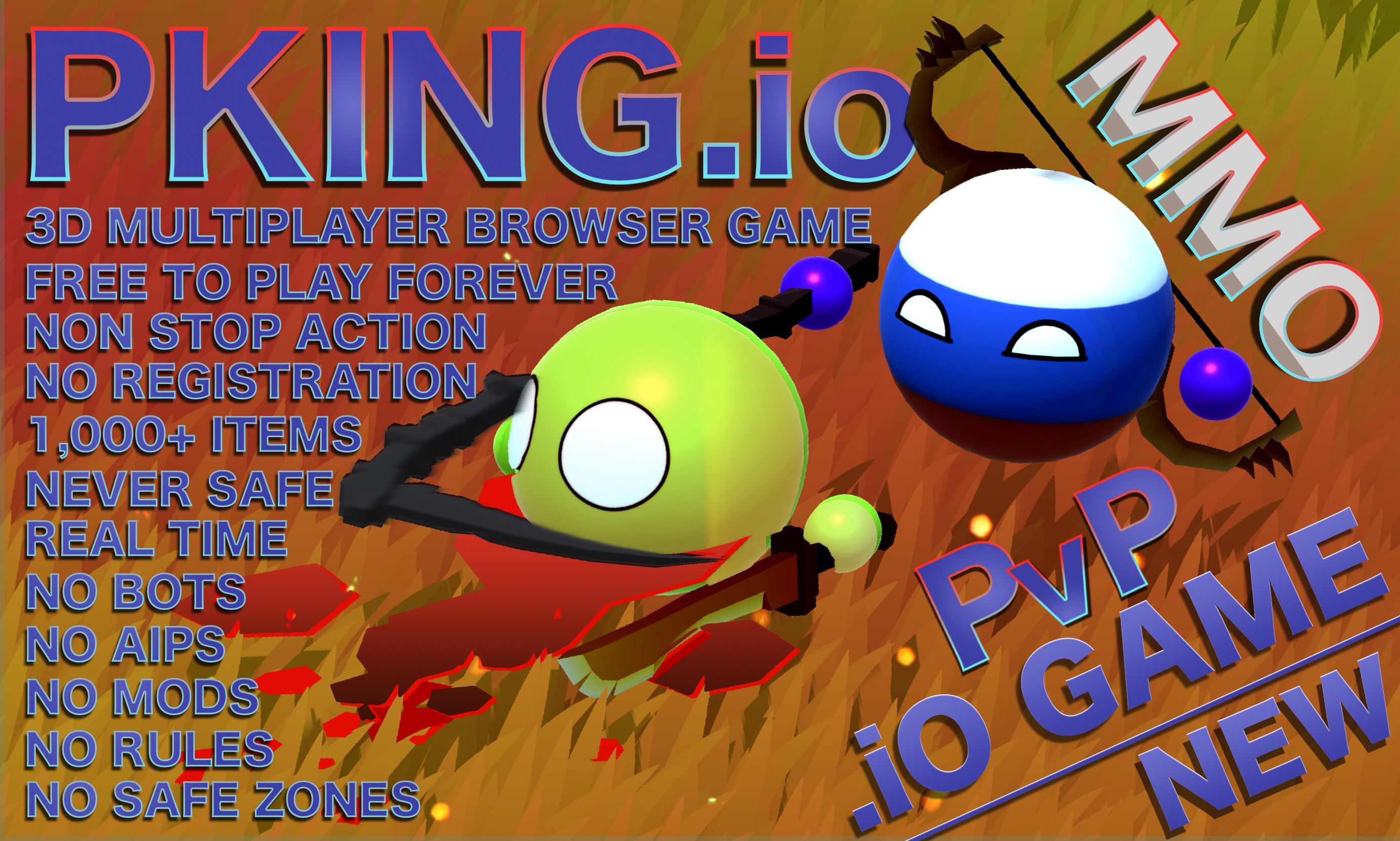 PKing.io Features Infographic