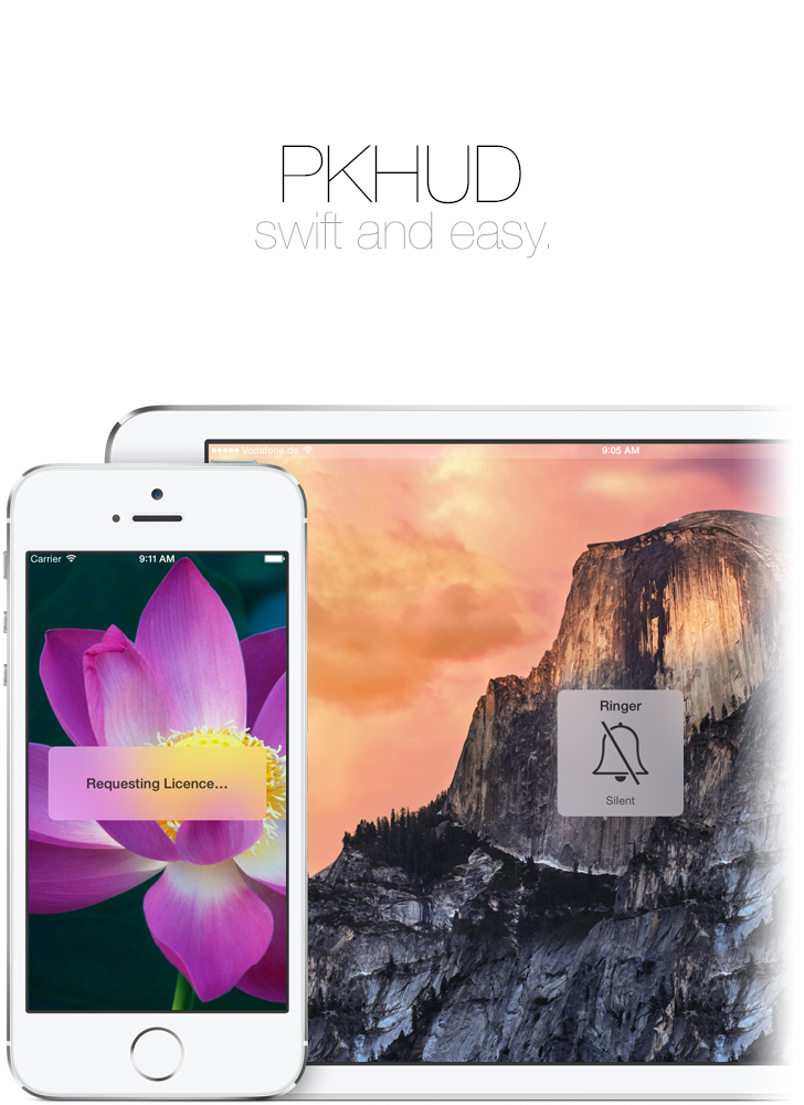 PKHUD - Swift and easy.