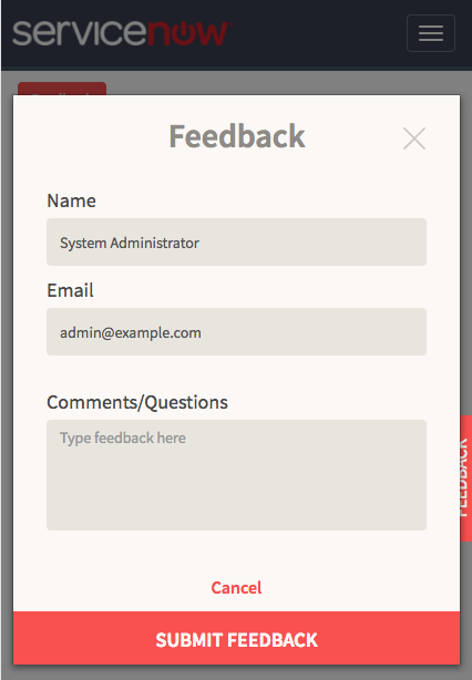 Servicenow Popup Ui Page