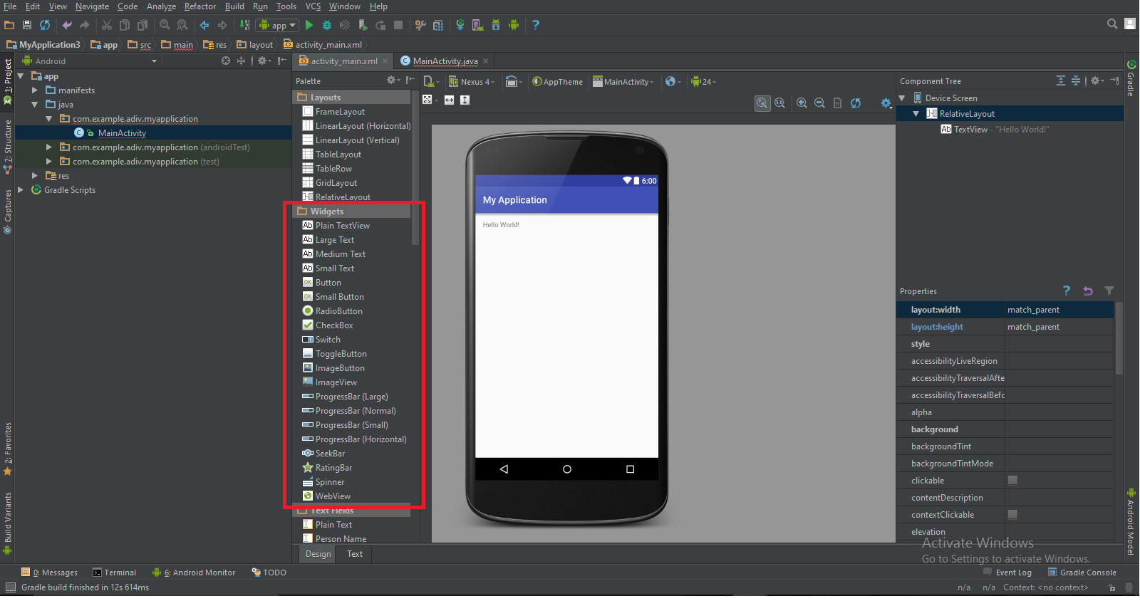 Android Studio: How to Create and Use Widgets | Pluralsight