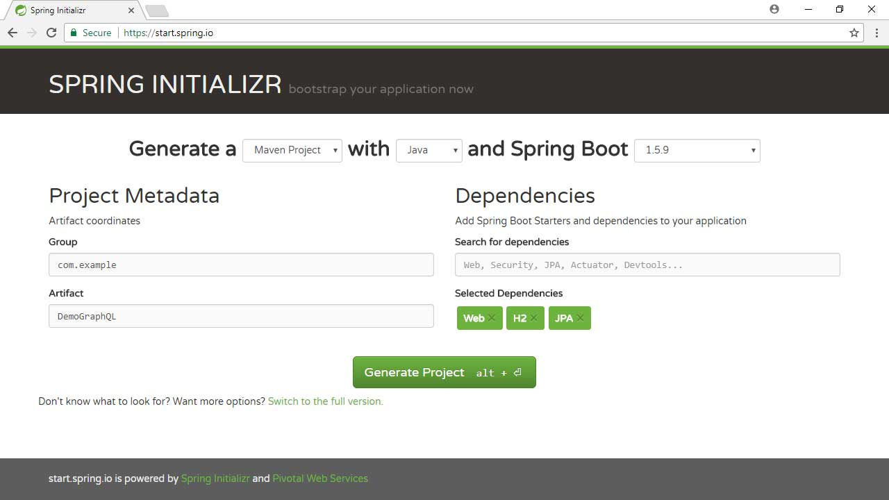 Build a GraphQL Server with Spring Boot | Pluralsight
