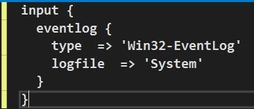 Input Configuration