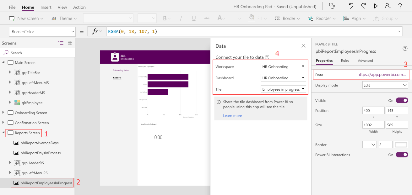 Connect to power bi