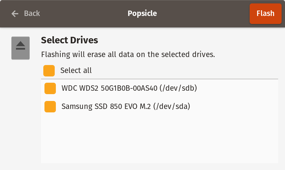 Device Selection
