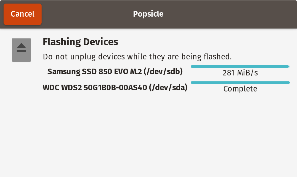Flashing Devices