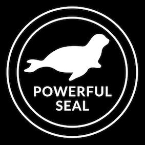 Powerful Seal Logo