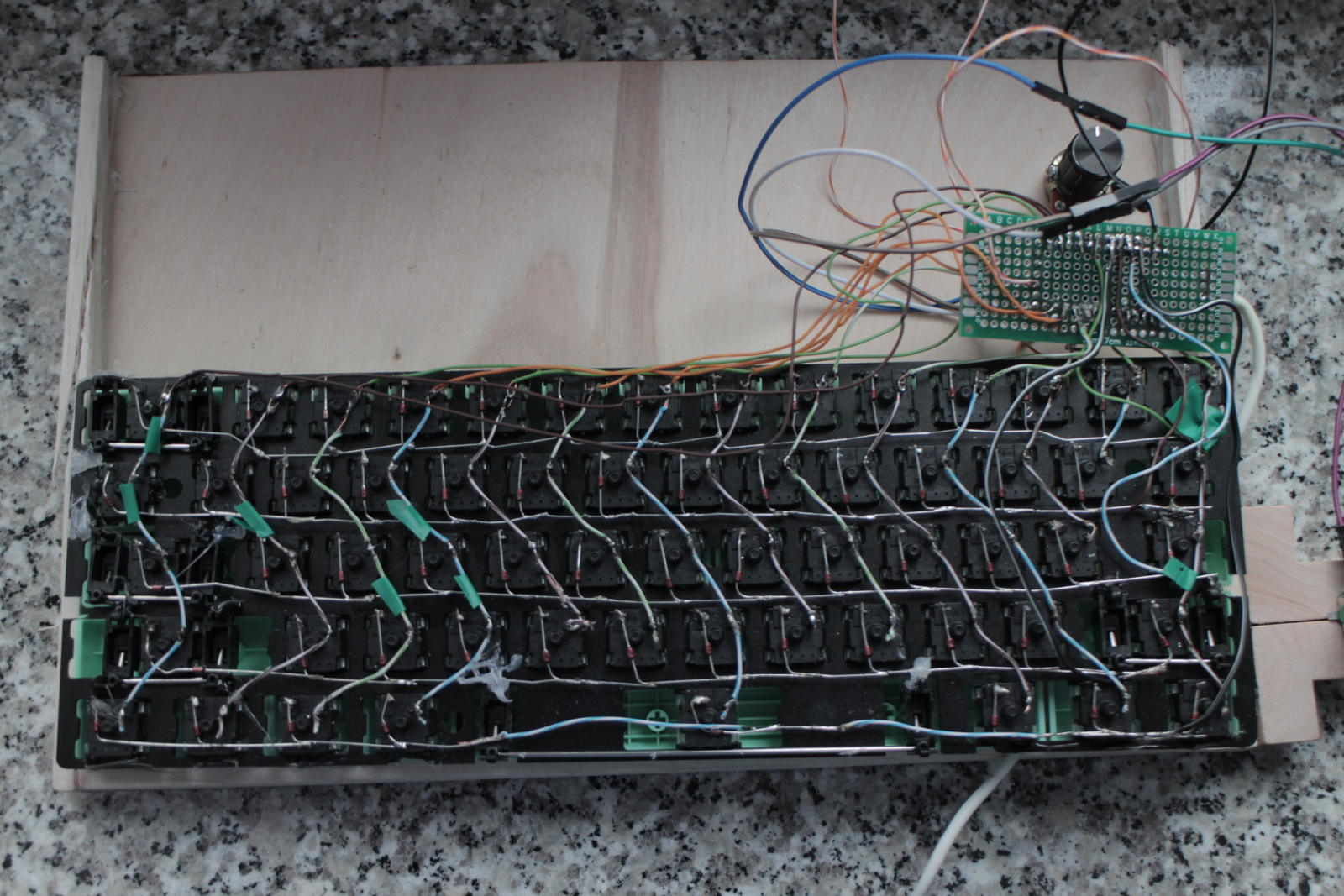 Keyboard bottom