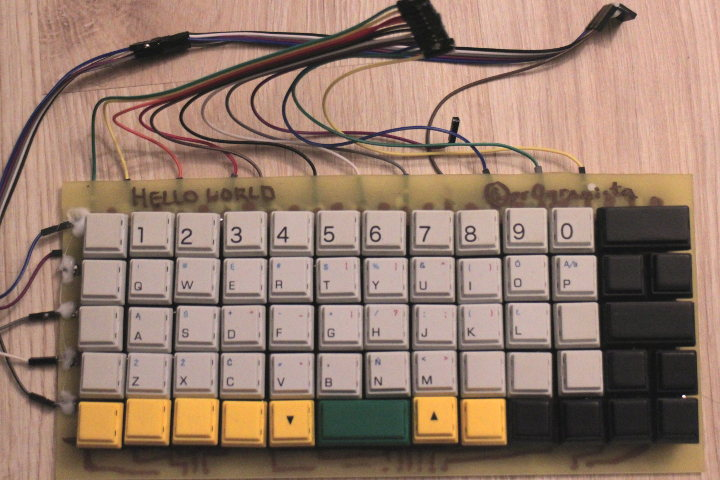 Keyboard top