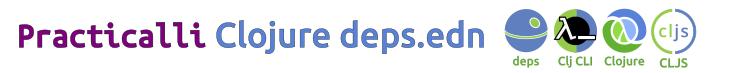 Practicalli Clojure deps.edn banner