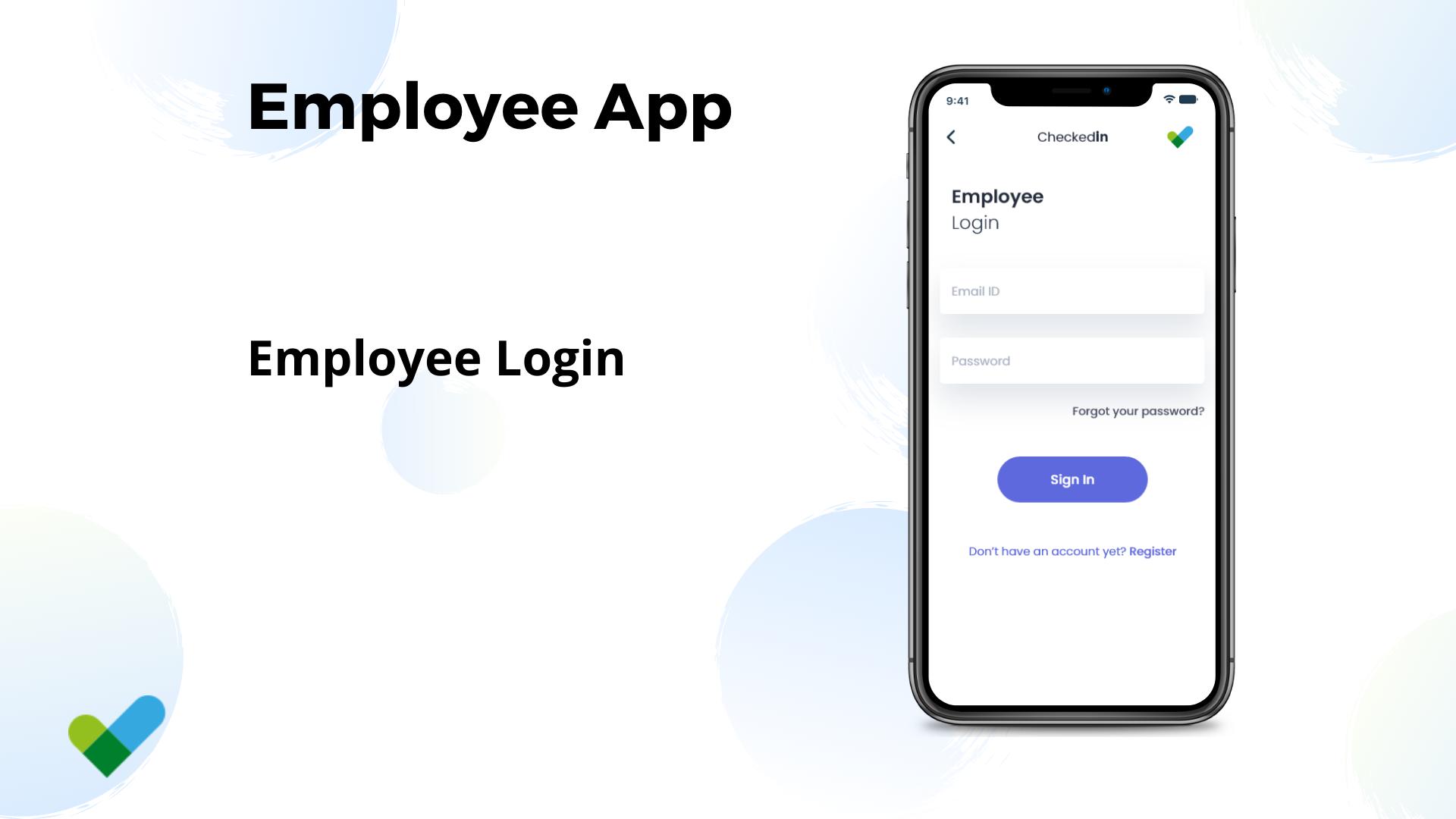 Remote Work tracking app in Flutter - 1