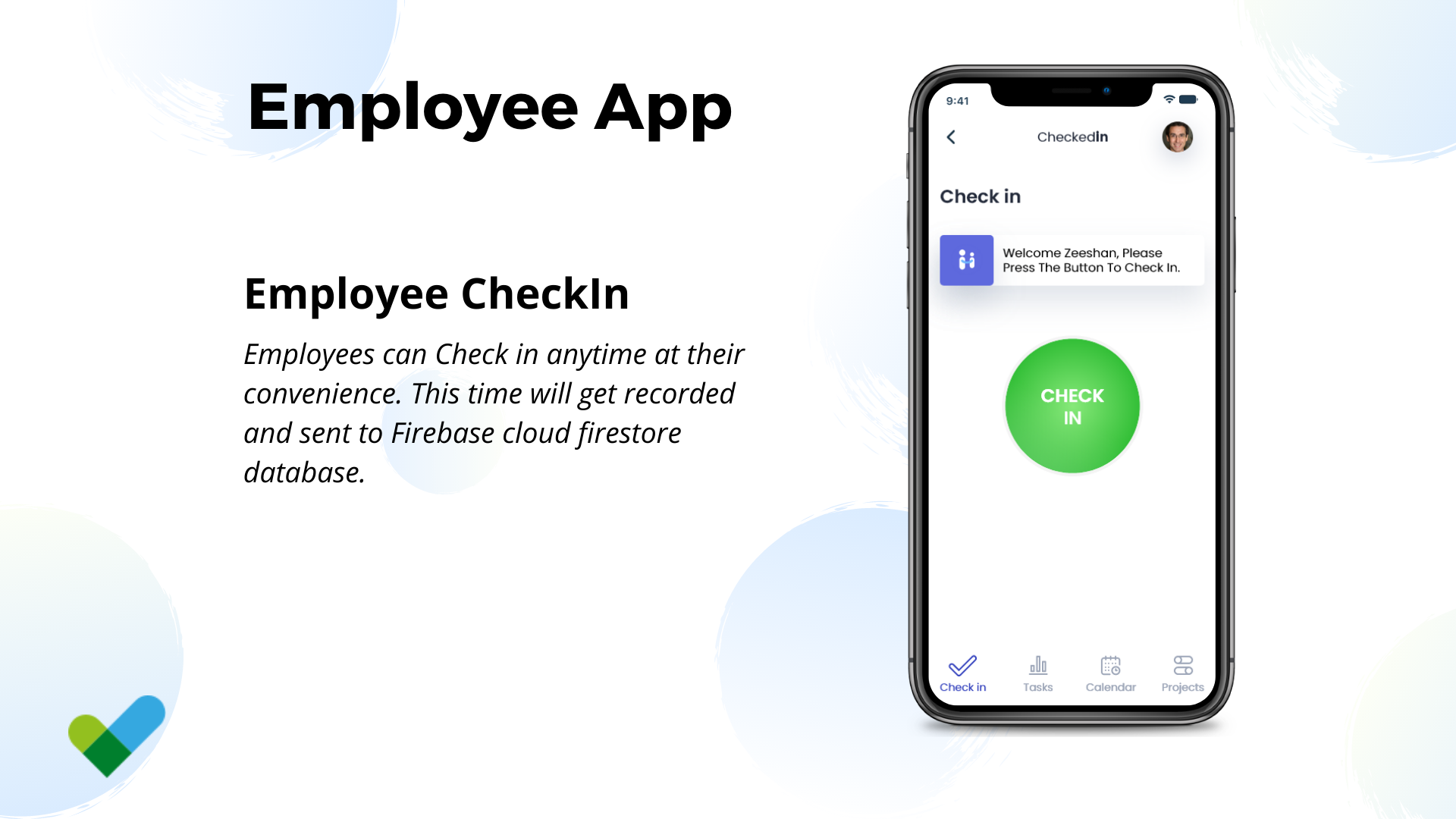 Remote Work tracking app in Flutter - 3