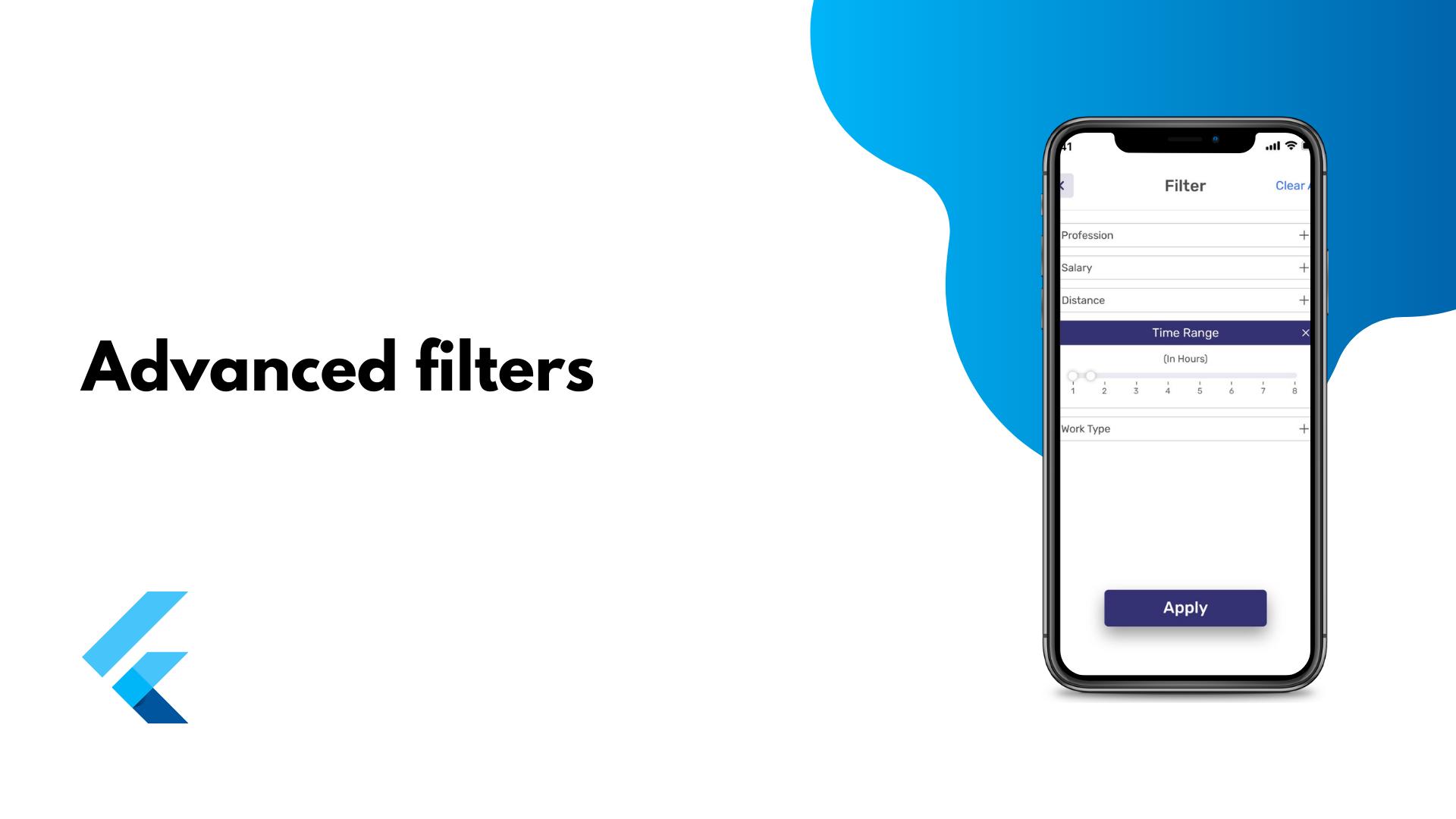 Job search professional networking social media UI KIT app in Flutter - 7