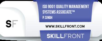 ISO9001QMSAssociate