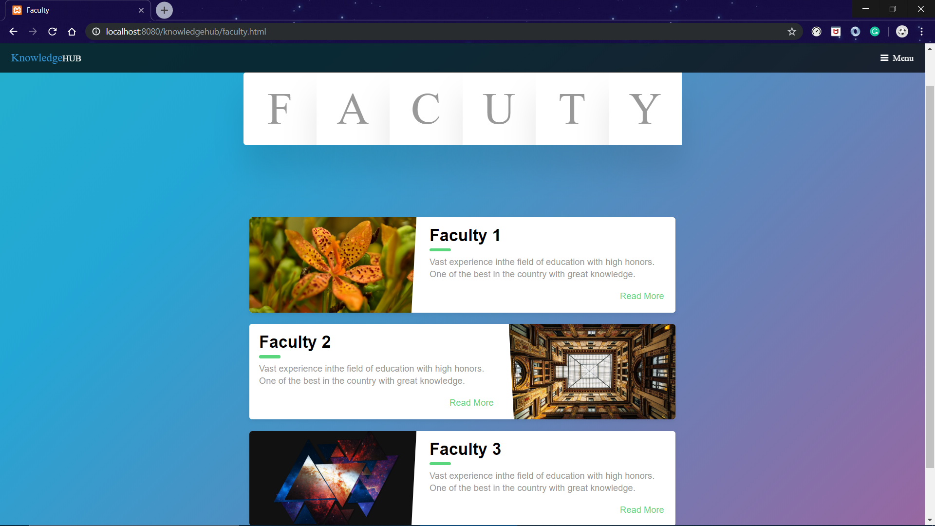 faculty-webpage