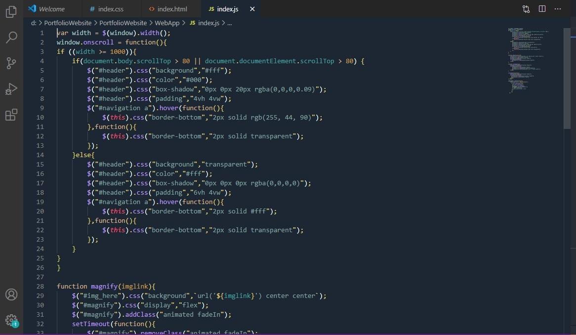 JavaScript Preview
