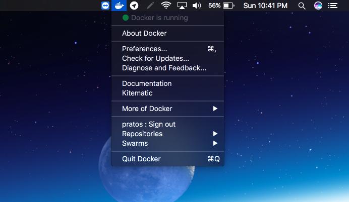 Docker MacOS