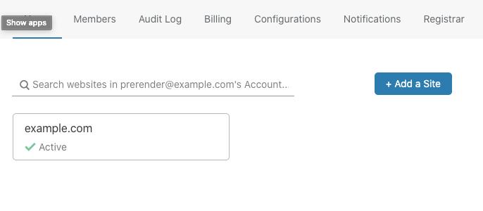 Cloudflare dashboard