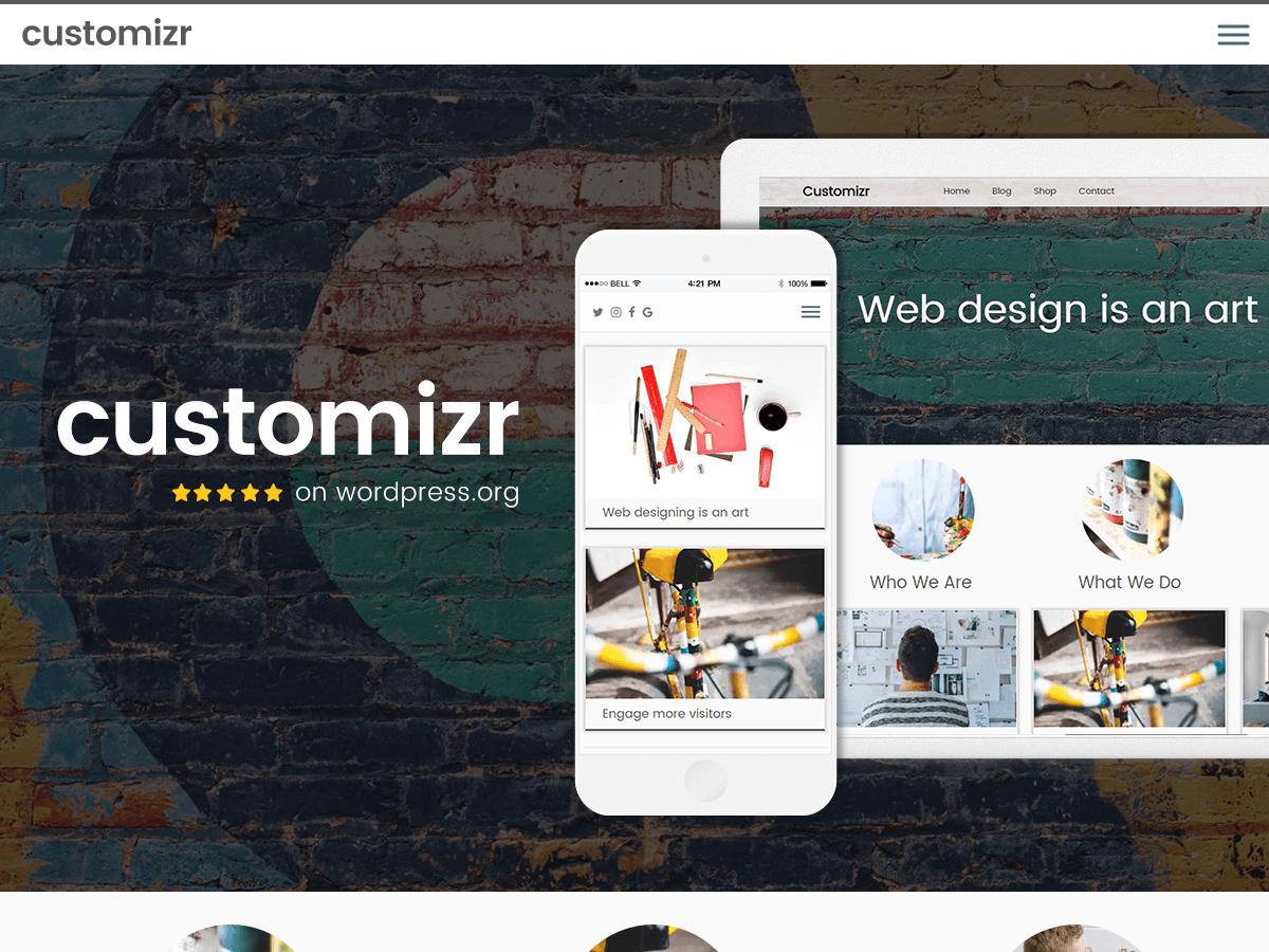 Customizr - Free Wordpress Theme