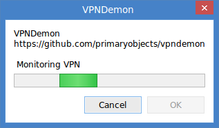 Monitoring VPN connection