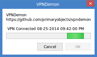 Detecting a VPN connection
