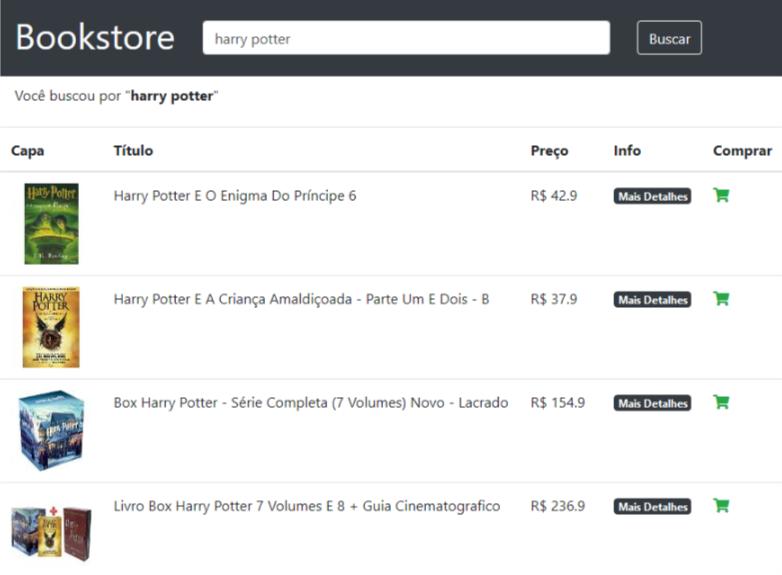 Bookstore - SPA com Vue.js