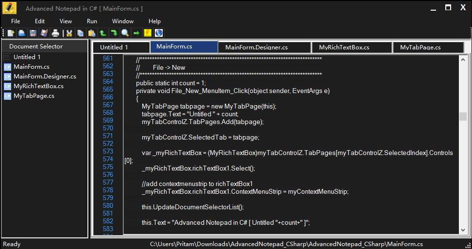 FileStream Open File C# - csharp-examplesnet