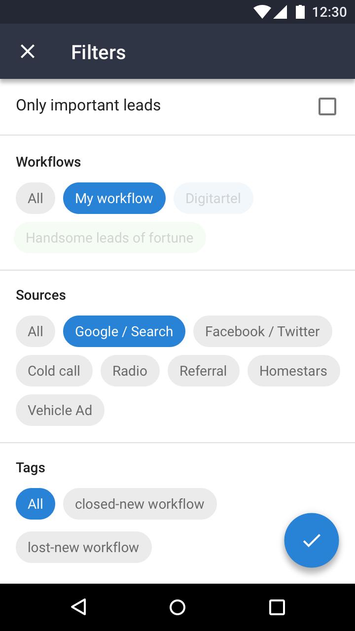 Android Clickhook React-Native app