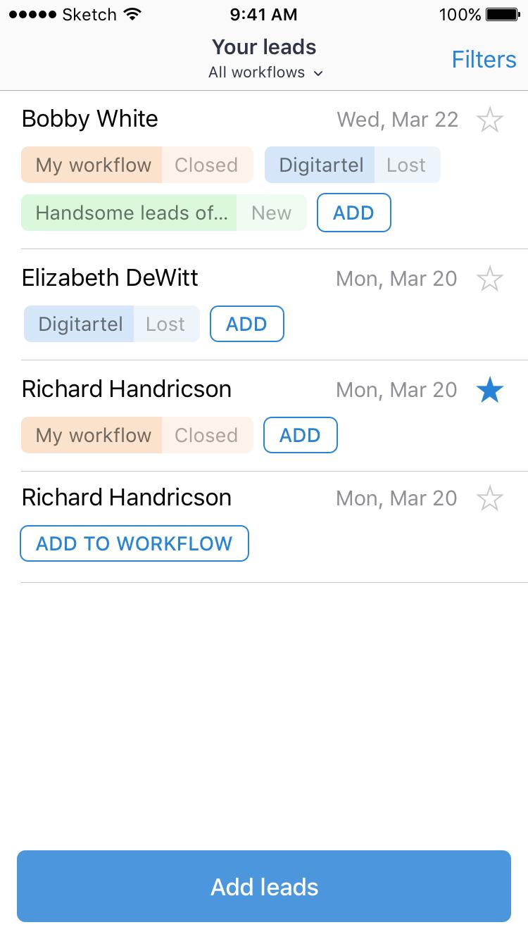 iOS Clickhook React-Native app