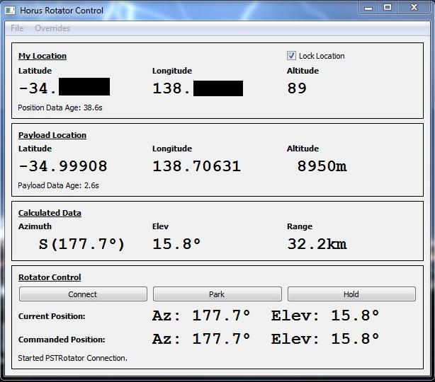 Rotator GUI Screenshot
