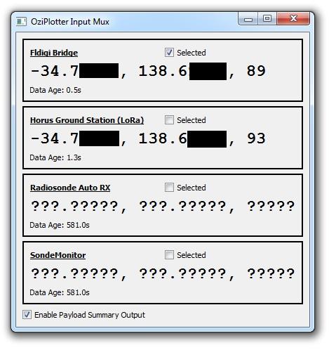 OziMux Screenshot
