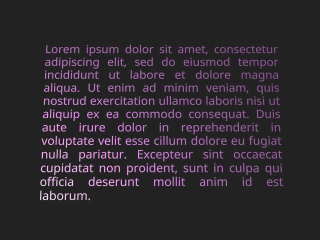 Text Rendering