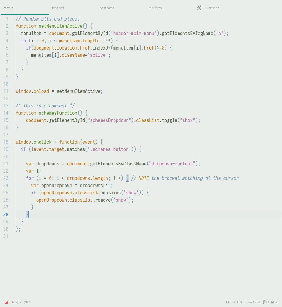 camo light screenshot js