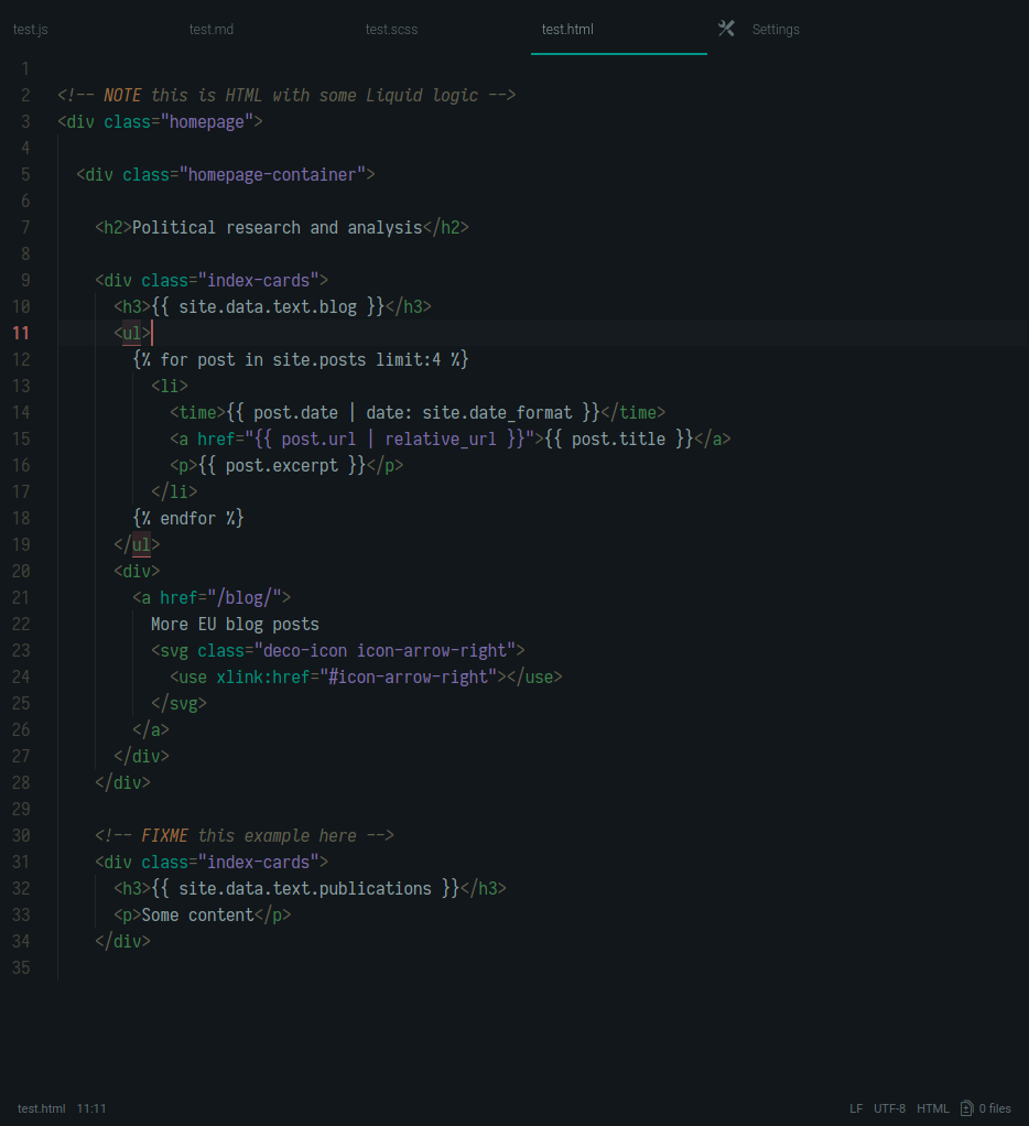 hinterland dark screenshot html