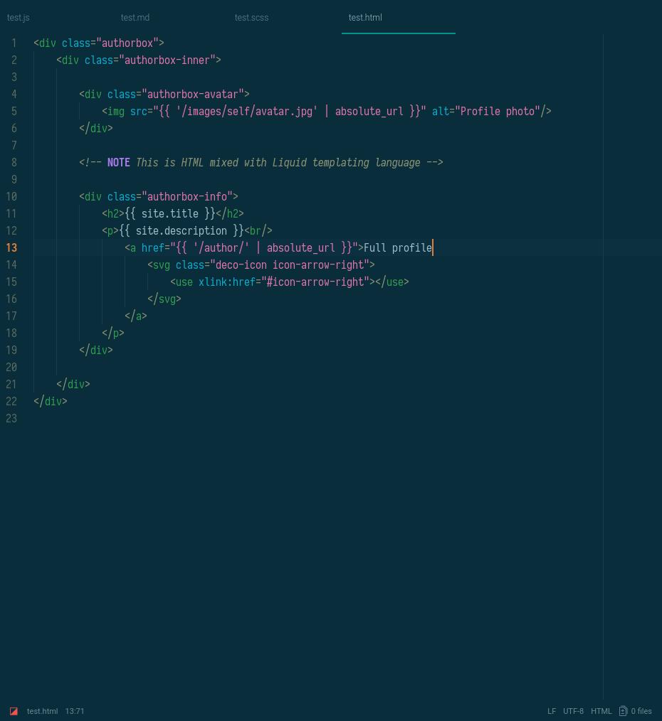 hyperion dark screenshot html